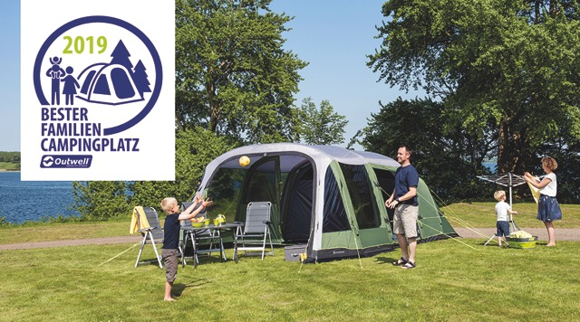 Outwell Award: Outwell sucht den besten Familien-Campingplatz 2019